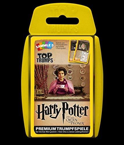 Winning Moves GmbH win62820No Top Trumps: Harry Potter e l' Ordine del Phoenix, Gioco