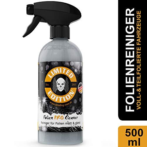 Limited Edition - Folienreiniger für folierte Fahrzeuge Car Wrapping Autopflege 500ml Sprayflasche