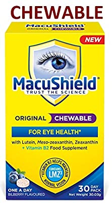 MacuShield Original Chewable, 30 Tablets, 30 g