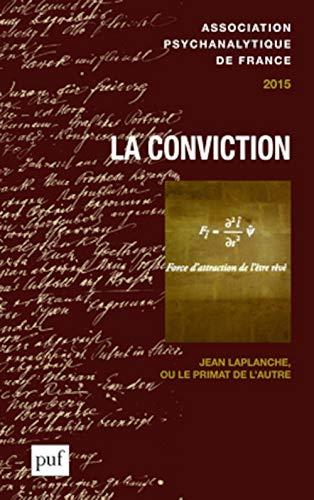 APF 2015 - La conviction