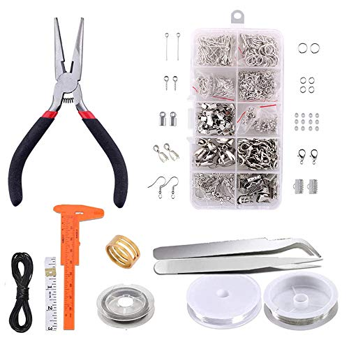 DIY Jewelry Making Accessories Kit Repairjewelry Combination Tool Set Crafts Wire Pliers Handcraft Earrings Necklace Accessories