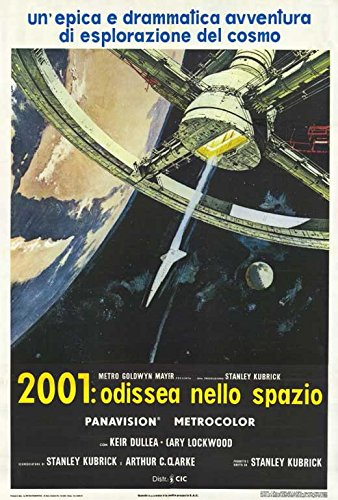 "2001: A Space Odyssey (Italian B) POSTER (27"" x 40"")"