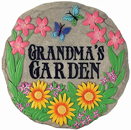 Grandma's Garden Stepping Stone great gift idea for Mother's Day for Nan or Grandma