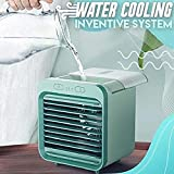 2020 Rechargeable Water-cooled Air Conditioner, USB Charging Battery Operated Air Conditioner Can Be Used Outdoors Portable Air Conditioner Fan 3 Wind Speeds