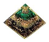 Orgone Pyramid with Rose Quartz Amethyst...