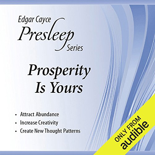 Prosperity Is Yours audiobook cover art
