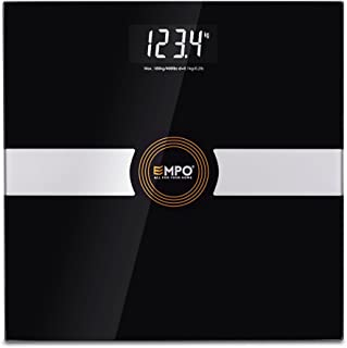 comprar comparacion Balanza EMPO® Premium de baño – Balanza digital de alta precisión para el peso corporal – Calcula el peso de manera precis...