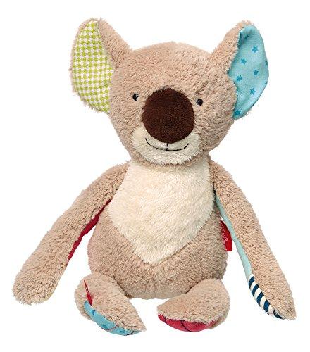 sigikid, Mädchen und Jungen, Stofftier Koala, Patchwork Sweety, Beige/Bunt, 38846