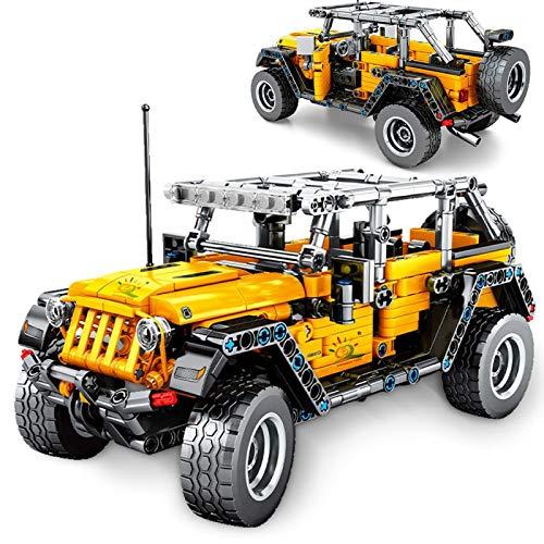 Legxaomi modelo de coche deportivo funcional convertible todoterreno, modelo de coche de juguete 2 en 1, juego de juguete para coche, apto para niños mayores de 6 años