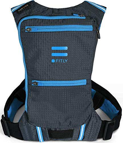 FITLY Minimalist Running Pack (Emerald Blue, XS-S)
