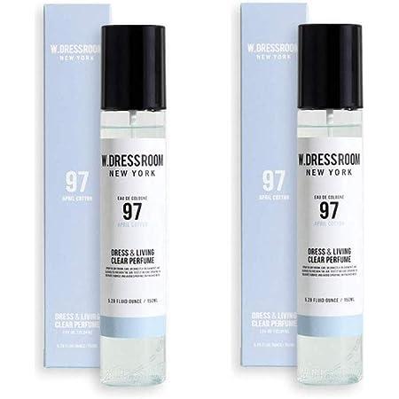 W.DRESSROOM 1+1(150ml,No.97 +150ml,No.97) Dress & Living Clear Perfume 150ml/ダブルドレスルーム ドレス&リビング クリア パフューム 150ml (#No.97 April Cotton)