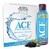 Buried Treasure ACF Advanced Immune Response with Vitamin C, Elderberry, Echinacea and Herbal Blend for Complete Rapid Immune Support Dietary Supplement   Package of 7 2 oz Bottles   14 Servings