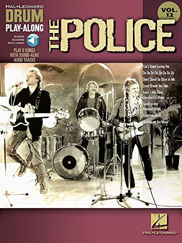The Police: Noten, Lehrmaterial für Schlagzeug (Drum Play-along, Band 12): Drum Play-Along Volume 12