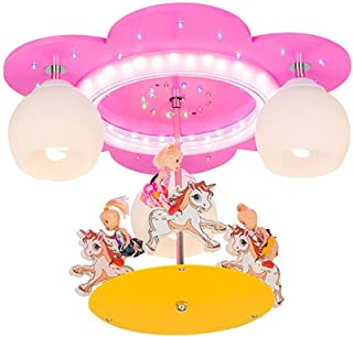 Suspension Lampe Enfants Chambre D'enfant Lustre Lampe Pendante Licorne Opale Boule De Verre Chambre À Coucher Bébé Fille ...