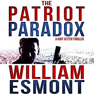 The Patriot Paradox audiobook cover art
