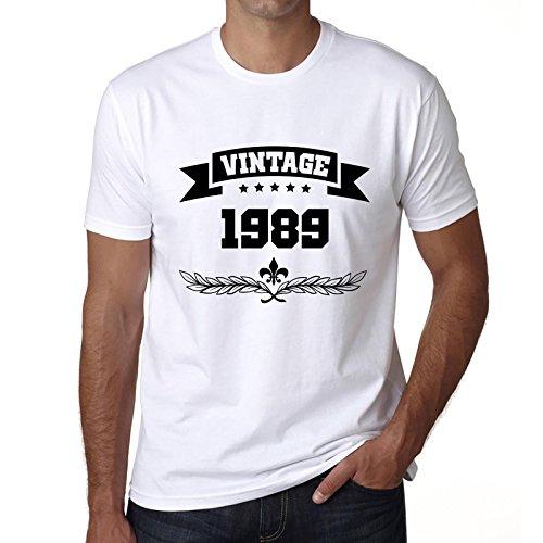 One in the City 1989 Vintage Year, Camiseta Regalo, Regalo cumpleaños Hombre