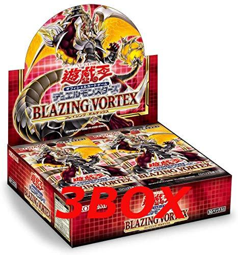 コナミデジタルエンタテインメント 遊戯王OCGデュエルモンスターズ BLAZING VORTEX BOX(初回生産限定版)(+1ボーナスパック 同梱) CG1702 3BOX