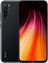 "Xiaomi Redmi Note 8 Smartphone,4GB 128GB Mobilephone,Pantalla Completa de 6.3 "",Procesador Snapdragon 665 Octa Core,Carga Rápida de 4000 mAh,Quad Cámara(48MP + 8MP + 2MP + 2MP) Versión Global(Negro)"