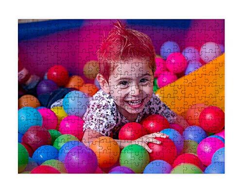 Puzzles personalizados 540 piezas con foto y texto | Máxima calidad de impresión | Diferentes tamaños disponibles (9 a 2000 piezas) | Tamaño: 540 piezas (50 x 34,5 cm)   Sin caja personalizada