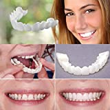 Snap On Instant Perfect Smile Comfort Fit Carillas flexibles Dientes inferiores superiores