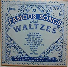 12 Famous Songs and Waltzes (10 inch Vinyl 33rpm)