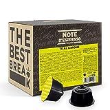 Note d'Espresso Italiano - Cápsulas de Té al Limón compatibles con cafeteras Dolce Gusto , 48 unidades de 12g, Total: 576 g