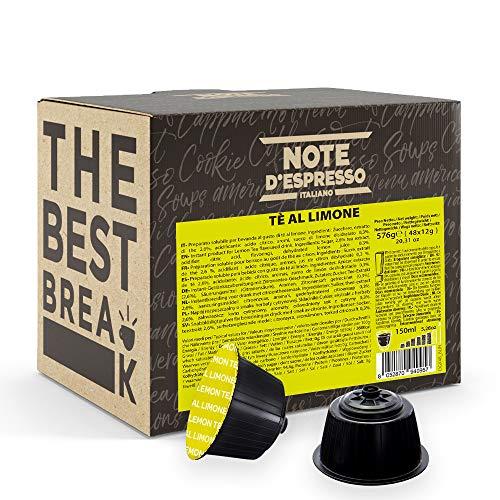 Note D'Espresso - Kapselmaschinen - ausschließlich kompatibel mit Nescafé* und *Dolce Gusto*- Lemon Tea - 12g x 48