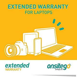 OnsiteGo 1 Year Extended Warranty for Laptops from Rs. 70001 to Rs. 100000