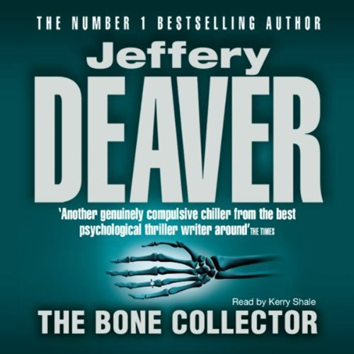 The Bone Collector audiobook cover art