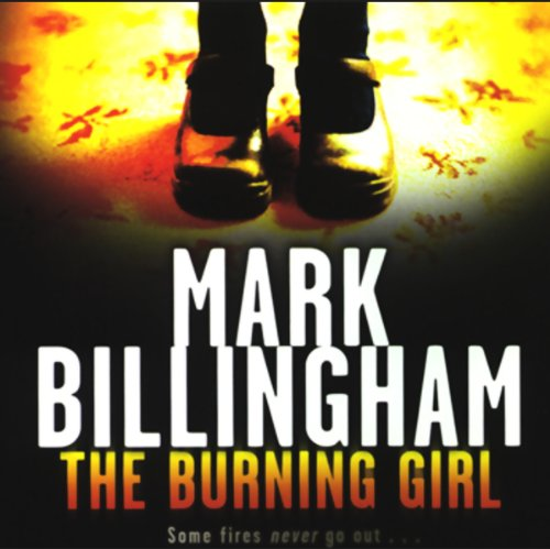 The Burning Girl audiobook cover art