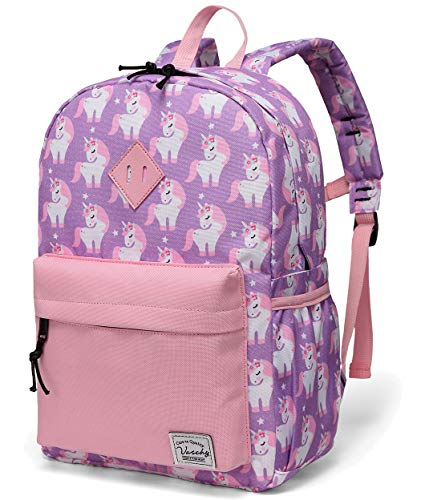 VASCHY Kids Backpack Girls, Children's Backpack Unicorn Toddler Backpack...
