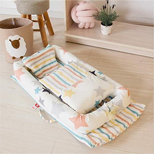 New Portable Baby Crib Infant Toddler Cradle Cot for Newborn Nursery Travel Folding Baby Nest Baby B...