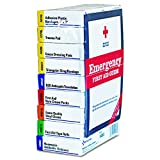 First Aid Kit Refill for 10 People, 59 Count, Package may vary...