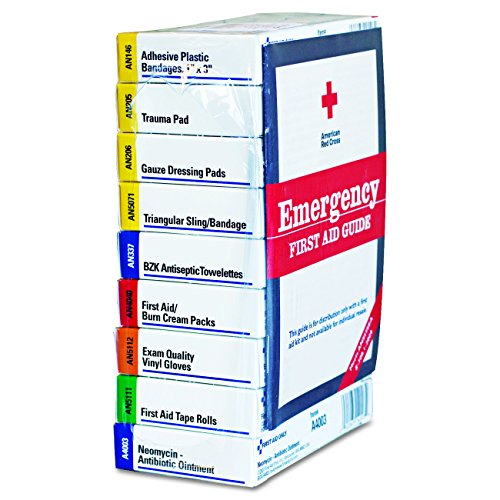 First Aid Kit Refill for 10 People 59 Count Package may vary