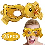 vamei 25 Stück Maske Kinder Party Masken Halbmaske Halloween Augenmaske Maskerade Cosplay...