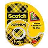 Scotch Double Sided Tape, 3/4 in x 400 in, 1 Dispenser/Pack (667)