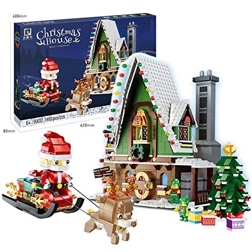 MOMAMOM Santa's Elf House Building...