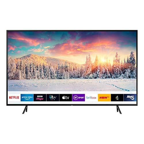 Samsung QE55Q60RAT 139,7 cm (55 Zoll) 4K Ultra HD Smart-TV Schwarz - Fernseher (139,7 cm (55 Zoll), 3840 x 2160 Pixel, 4K Ultra HD, QLED, Smart-TV, Schwarz)