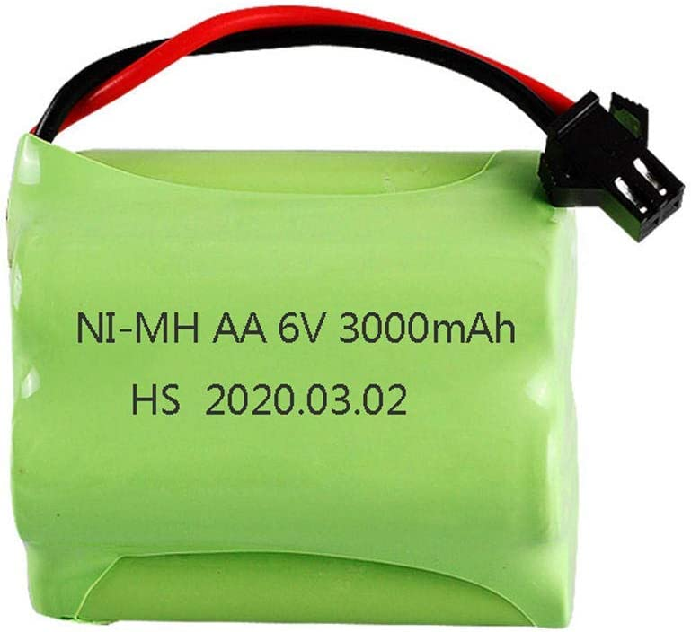 GzxLaY High-Performance Battery Backup AA 3000mah Super-cheap Today's only 6V Hig