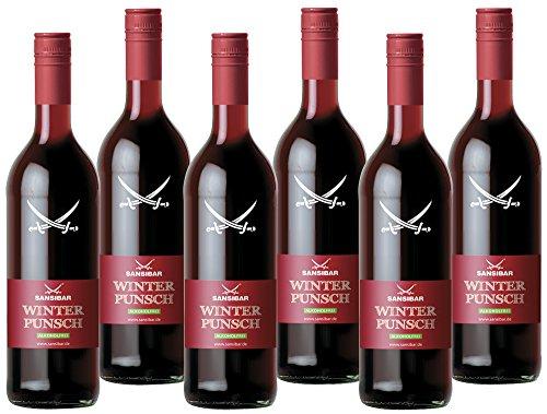 Sansibar Alkoholfreier Winter-Punsch, 6er Pack (6 x 740 ml)