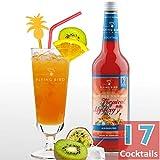 Tropical Mystery - Cocktail Sirup PreMix für 17 Mixgetränke alkoholfrei   Flasche 0,7l mit allen Zutaten   Einfach mit Ananassaft mixen, fertig