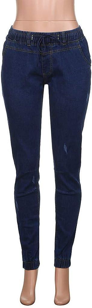mjhGcfj Destroyed Ripped Jeans Slim Fit for Men Denim Jeans Straight Leg Stretchy Skinny Pants Regular Fit Jeans