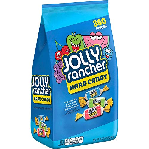 Jolly Rancher Bulk Candy Variety Pack 5 Pound Individually Wrapped Pieces