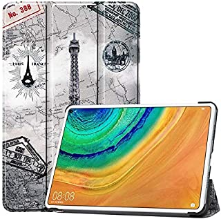 JDDRCASE Ultra Slim Premium PU Leather Protective Cover with Stand Function for Huawei MatePad Pro 10.8 inch 2019 (Color : 7)