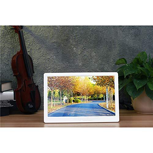 ELD 13 Zoll 1280 * 800 HD Digital Photo Frame, Elektronischer Bilderrahmen USB Fotoalbum JPEG-Bild Switch automatisch Loop-Bilder/Musik/Video-Wiedergabe,B
