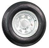 Kenda K550 ST225/75D-15 Bias Tire w/ 6H Spoke Galvanized, LRD - Loadstar