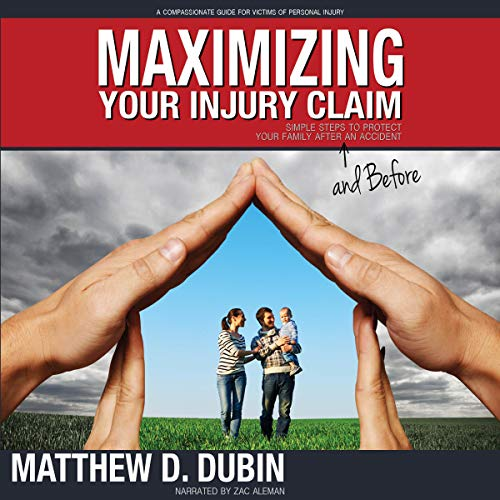 Maximizing Your Injury Claim audiobook cover art
