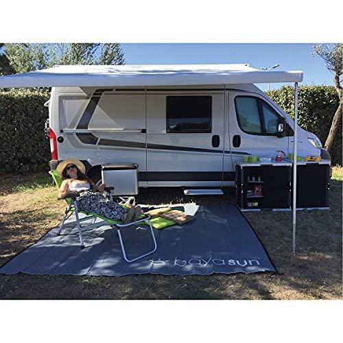 Baya Sun - Tapis de Sol Floor Mat pour extérieur Camping-Car BAYA SUN Long. (cm) - 300, Prof. (cm) - 250