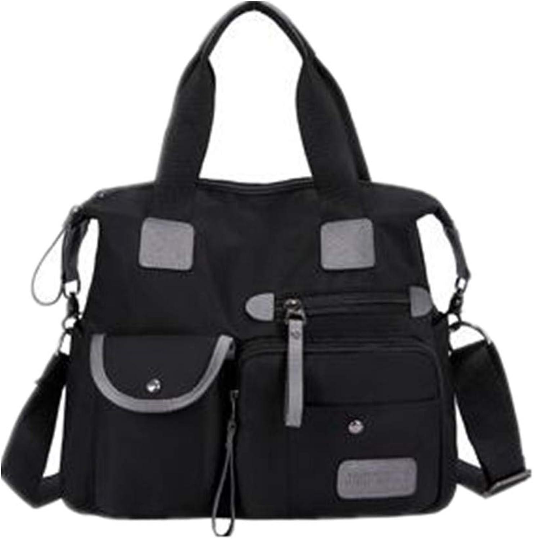 NZZNB Fashion Women's Bag Oxford Cloth Handbag Multifunctional Bag Large Capacity Women's Bag Top-Handle Handbags