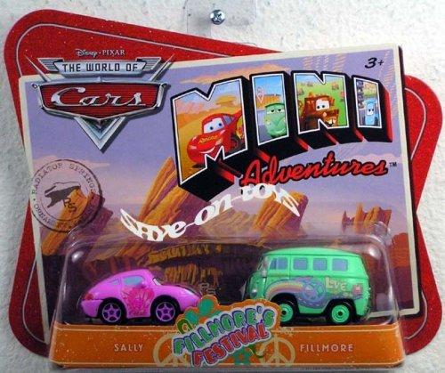 Disney Pixar Cars Movie Toy Mini Adventures 2 Pack Sally Fillmore Buy Online In China At Desertcart
